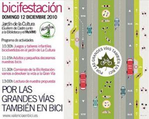 Bicifestació 12 de desembre 11:30 València