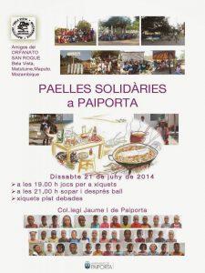 PAELLES SOLIDÀRIES a PAIPORTA