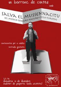 Un barranc de contes: Salva el Mussennacitu