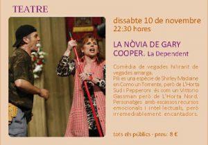 Teatre. La nòvia de Gary Cooper