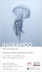 INGRÁVIDO Mar Domínguez. Del 25 d'octubre al 12 de novembre.