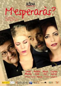 Read more about the article M'esperaràs? d'Albena Teatre. Dissabte 18 d'octubre a les 22:30. Auditori de Paiporta