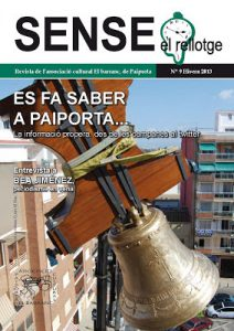 """Presentació nº 9 """"Sense el rellotge"""" i Conferència El llenguatge de les campanes"""