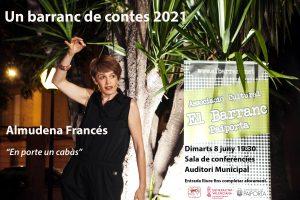 Un barranc de contes 2021. Almudena Francés